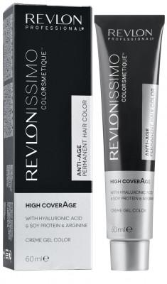 Краска для седых волос Revlon Professional Revlonissimo High Coverage 7.41 натуральный ореховый Блондин 60мл: фото