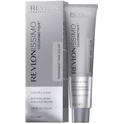 Краска перманентная Revlon Professional Revlonissimo Colorsmetique 7.24 Блондин Переливающийся-Медный 60мл: фото