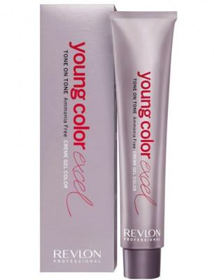 Крем-гель полуперманентный Revlon Professional Young Color Excel 7.24 Блондин мокка70мл: фото