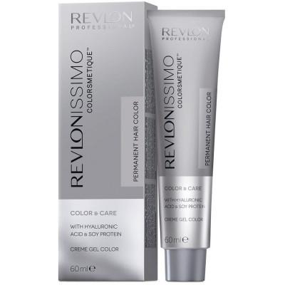 Краска перманентная Revlon Professional Revlonissimo Colorsmetique 1 Иссиня-Черный 60мл: фото