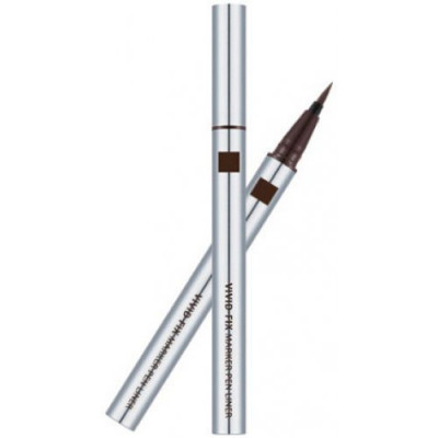 Подводка для глаз MISSHA Vivid Fix Marker Pen Liner Deep Brown 0,6 гр.: фото