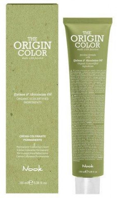 Краска для волос NOOK Origin Color Cream 6.11 Интенсивный Пепельный Темный Блондин 100 мл: фото