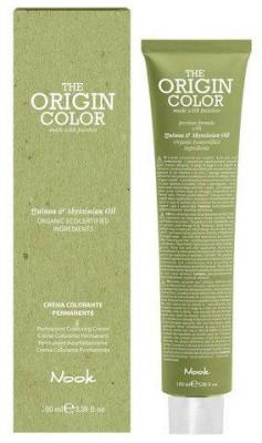 Краска для волос NOOK Origin Color Cream 1.11 Иссиня-Черный Шатен 100 мл: фото