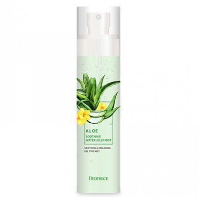 Мист для лица гелевый DEOPROCE ALOE SOOTHING WATER JELLY MIST 150мл: фото