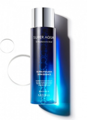 Тоник-эссенция увлажняющий MISSHA Super Aqua Ultra Hyalron Skin Essence in Toner 200 мл: фото