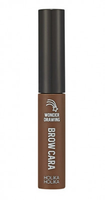 Тушь для бровей Holika Holika Wonder Drawing 1sec. Finish Browcara 06 шоколадно-коричневый 4 г: фото
