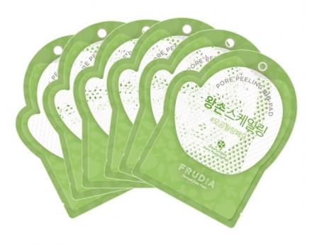 Пилинг-диски для лица с зеленым виноградом Frudia Green Grape Pore Clear Peeling Pad 70шт: фото