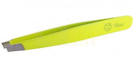 Пинцет для бровей Flario, желтый: фото