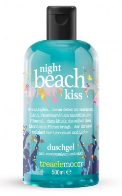 Гель для душа поцелуй на пляже Treaclemoon Night Beach Kiss Bath & Shower Gel 500 мл: фото