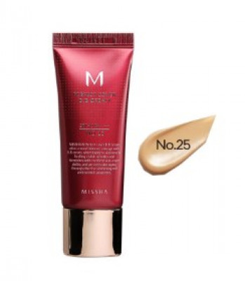 Тональный крем MISSHA M Perfect Cover BB Cream SPF42/PA+++ No.25/Warm Beige 20мл: фото