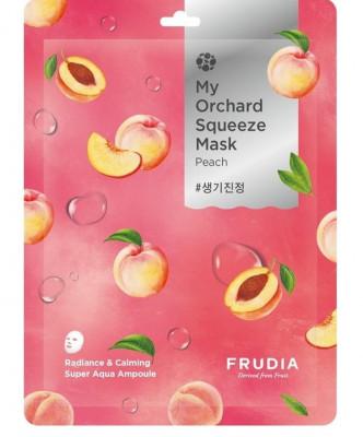 Тканевая маска с персиком Frudia My Orchard Squeeze Mask Peach 20 мл: фото