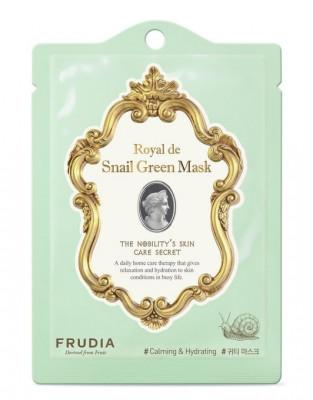 Маска омолаживающая с муцином улитки Frudia Royal de Snail Green Mask 20 мл: фото