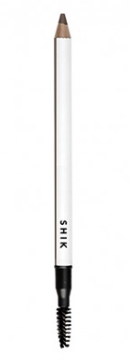 Пудровый карандаш для бровей SHIK Brow powder pencil dark: фото