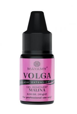 Ремувер для ресниц гелевый MAYAMY VOLGA Malina 10г: фото