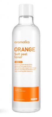 Тоник отшелушивающий с экстрактом апельсина Orange Soft Peel Toner 350мл: фото